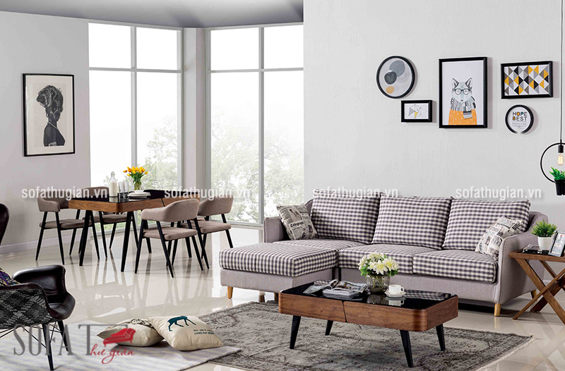Cách bố trí bộ bàn ghế sofa phòng khách hợp phong thủy