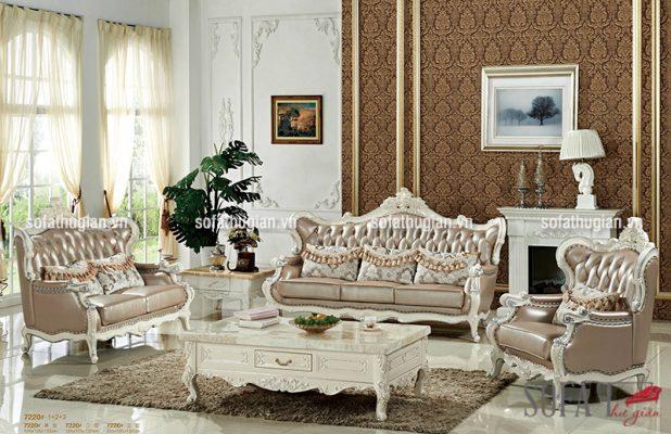 Ghế sofa cổ điển Châu Âu quý phái, sang trọng