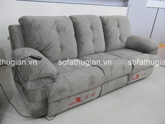 ghế sofa thư gian chất liệu nỉ để mang tới không gian ấm áp