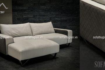 Nên chọn ghế sofa vải nỉ hay sofa da cho căn phòng khách?