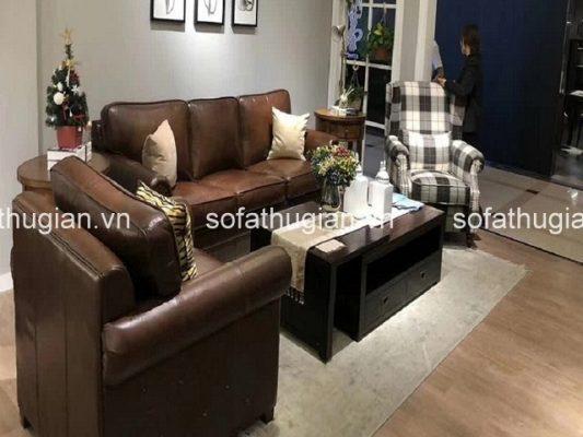 Chọn được bộ ghế sofa phòng khách nhỏ với màu sắc ưng ý nhất