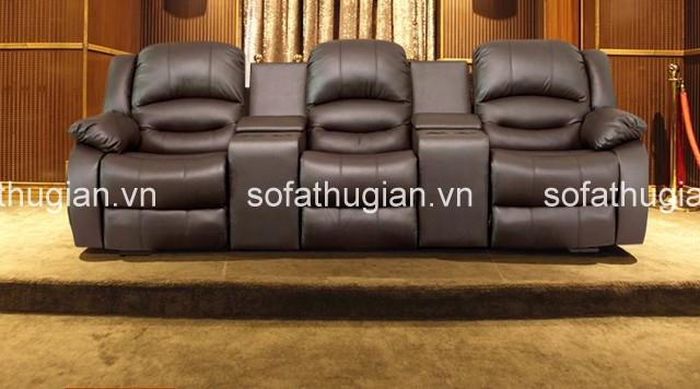 Hãy tạo bước đột phá, mới lạ cho phòng khách nhà mình bằng một bộ sofa da hiện đại màu đen