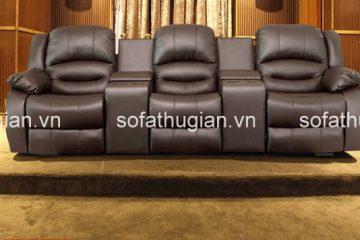 Chọn màu sắc gì cho ghế sofa phòng khách chất liệu da